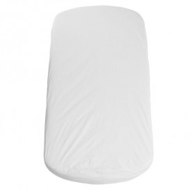 70x140cm Flexa Oval Mattress and Fitted Sheet White Flexa