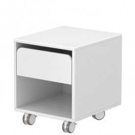 Chest with 1 Drawer CABBY White Flexa