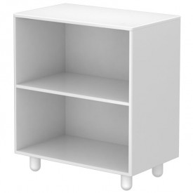 Bookcase with 1 Shelf CABBY White Flexa
