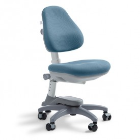 Novo Study Chair - Frosty Blue Grey Flexa