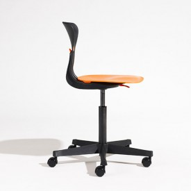 Ray Study Chair - Orange Black Flexa
