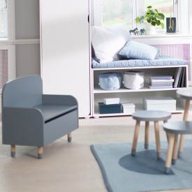 Bench / Toy Box PLAY - Light Blue   Blue Flexa