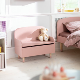 Bench / Toy Box PLAY - Light Rose  Pink Flexa