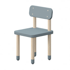 Small chair PLAY - Light Blue  Blue Flexa