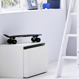 PLAY Storage Chest / Bench - White White Flexa