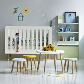 PLAY Crib - White White Flexa