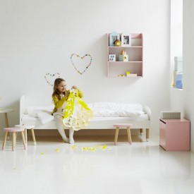 PLAY single bed 90 x 200 - White White Flexa