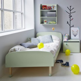 PLAY single bed 90 x 200 - Mint Green Flexa