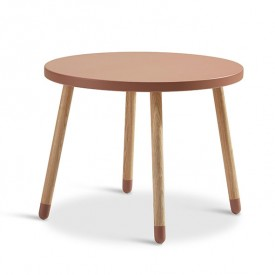 PLAY Small Table - Cherry  Pink Flexa