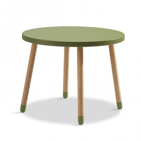 PLAY Small Table - Kiwi  Green Flexa