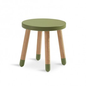 PLAY Small Stool - Kiwi Green Flexa