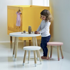 PLAY Small Stool - White White Flexa