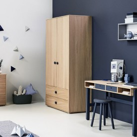 2 doors wardrobe Popsicle Nature Flexa