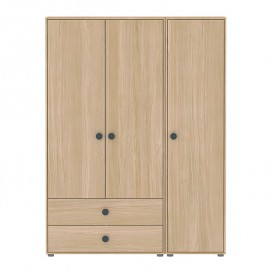 1 door Wardrobe Popsicle Nature Flexa