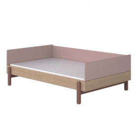 Day bed Popsicle 120 x 200 cm - Cherry Pink Flexa