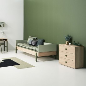 Day bed Popsicle 90 x 200 cm - Kiwi  Green Flexa