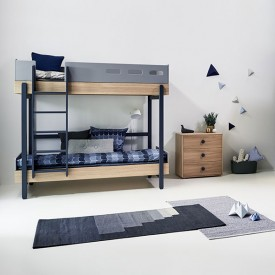 Bunk bed Popsicle - Blueberry Blue Flexa
