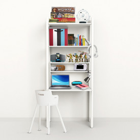 Shelfie Shelf - Maxi D - White - DISPLAY MODEL White Flexa