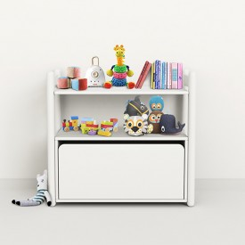 Shelfie Shelf - Mini B - White White Flexa