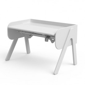 Tilting Desk WOODY - Blanc White Flexa
