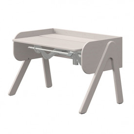 Tilting Desk WOODY - Grey Grey Flexa