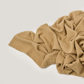 Muslin Blanket - Straw Yellow Garbo and Friends