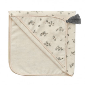 Baby Hooded Towel - Bluebell White Garbo and Friends