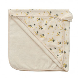 Baby Hooded Towel - Mimosa White Garbo and Friends