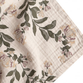 Set of 3 Muslin Cloth - Honeysuckle  Multicolour Garbo and Friends