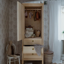 Wardrobe - Birch  Nature Gustavienne