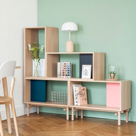 Modular Shelf Edgar - Oak Nature Hartô