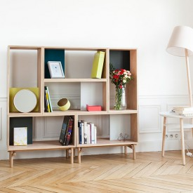 Base Frame Shelf Edgar - Oak Nature Hartô