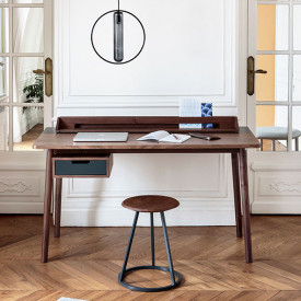 Honoré Desk - Anthracite Grey Hartô