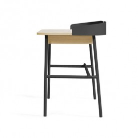 Desk Victor - Anthracite Grey Hartô