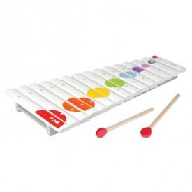 Wooden Confetti Xylophone White Janod