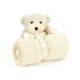 Shooshu Perry Polar Bear Soother White Jellycat