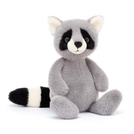 Whispit Raccoon (26cm) Grey Jellycat