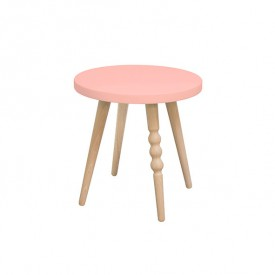 Stool 30 cm My Lovely Ballerine - Beech / Pink Pink Jungle by Jungle