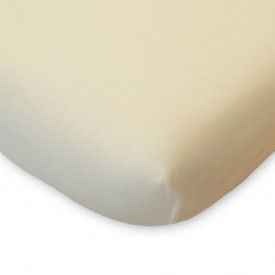 Fitted Sheet for Bed 90x140 - Natural White Kadolis