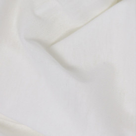 Organic Cotton Fitted Sheet - 90x140 - Natural White Kadolis