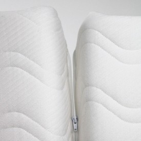 Junior Convertible Mattress 90x140/190cm White Kadolis