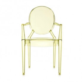 Louis Ghost Chair - Yellow - Display Model Yellow Kartell