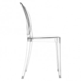 Victoria Ghost Chair - Crystal White Kartell