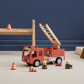 Fire Truck Aiden Red Kid's Concept