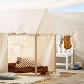 Play house tent - Off White White Kid's Concept