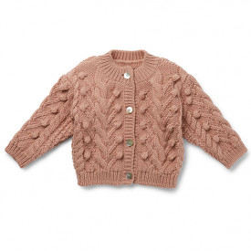 Silya Cardigan - Rose Blush  Pink Konges Sløjd