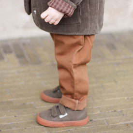 Adine Pants - Faded Brown Brown Konges Sløjd