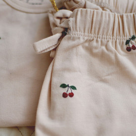 Pants - Cherry/Blush Pink Konges Sløjd