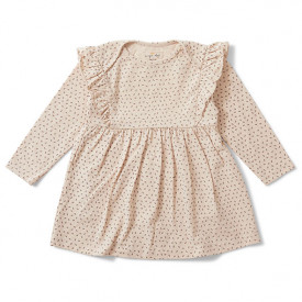 Hygsoft Dress - Tiny Clover Rose Pink Konges Sløjd
