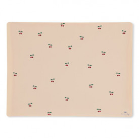 Silicone Placemat - Cherry Pink Konges Sløjd